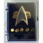 Star Trek DS9 and Voyager Communicator Pin Set