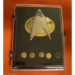 Star Trek The Next Generation Communicator Pin Set