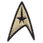 Star Trek-TOS 3rd Season Starfleet Command Patch
