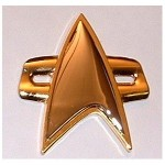 Star Trek Voyager DS9 Communicator Replica Pin