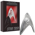 Starfleet Engineering Division Badge Replica